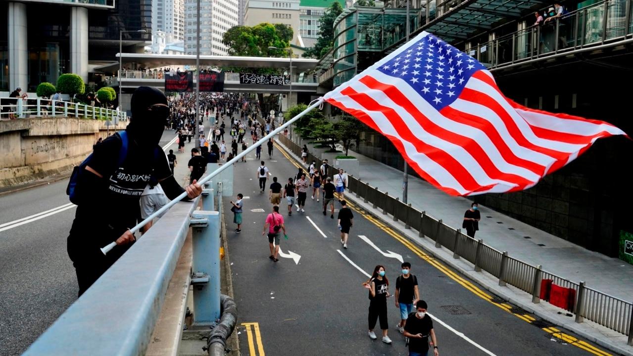 Hong Kong protestors appeal to President Trump