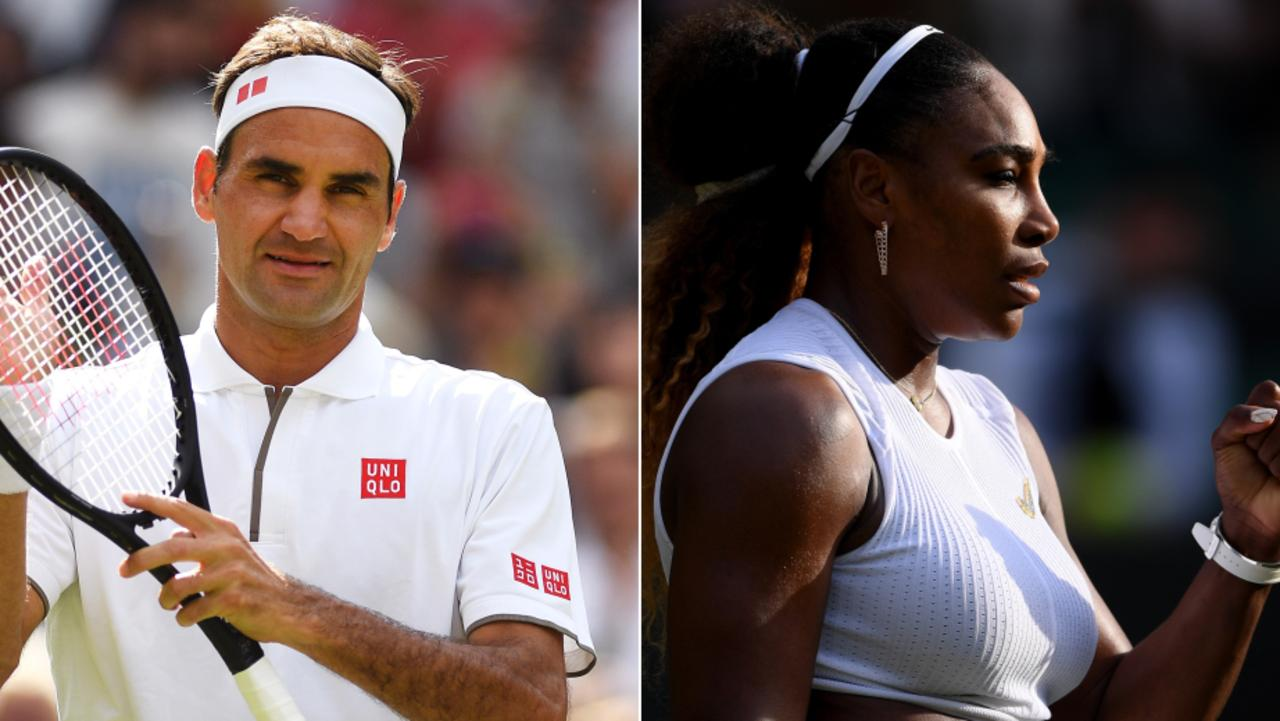 Roger Federer and Serena Williams both progress.