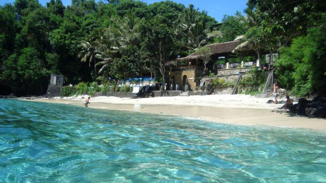 Close to Padangbai village, come here for a day trip to luxuriate in the turquoise waters.