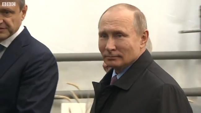 Putin asked if Russia was behind the poisoning of Sergei Skripal
