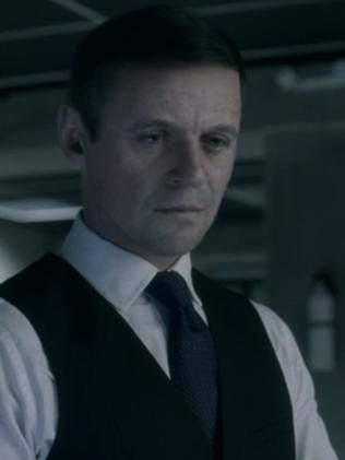 Anthony Hopkins just got younger. Picture: HBO