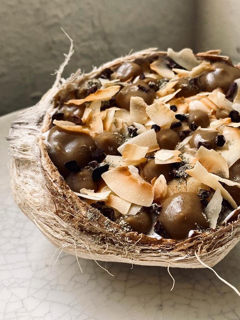The coconut sundae is something else.