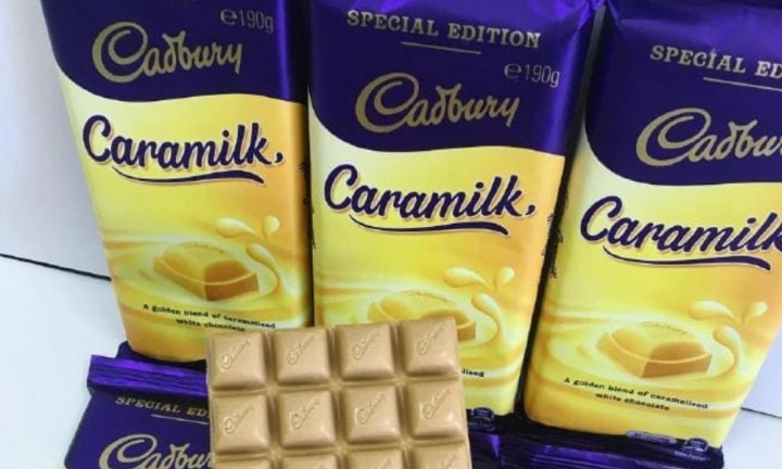 Cadbury's Caramilk chocolate is returning