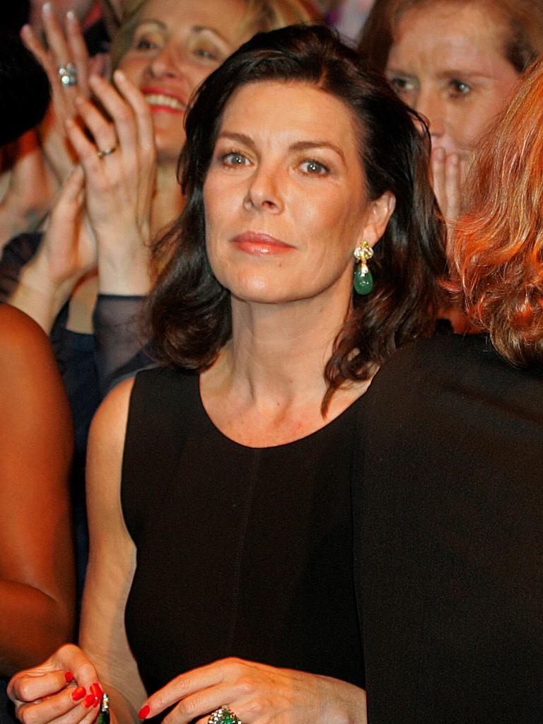 Princess Caroline in 2006, looking strikingly similar to her mother actress Grace Kelly.