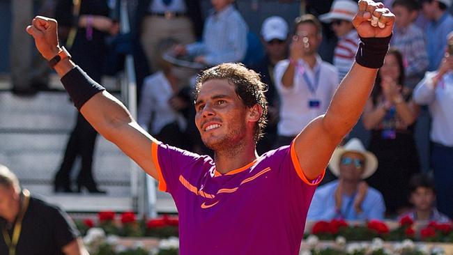 Rafael Nadal is a perfect 14-0 on clay so far this season.