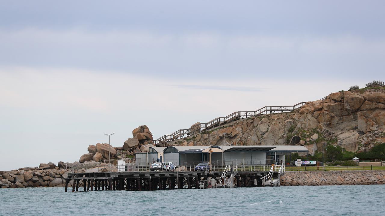 Granite Island at Victor Harbor. Picture: Tait Schmaal.
