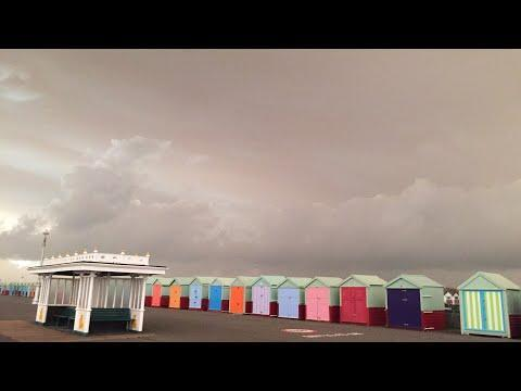 'Foreboding Sky' Deters Tourists in British Holiday Town. Credit - YouTube/CarolineD via Storyful