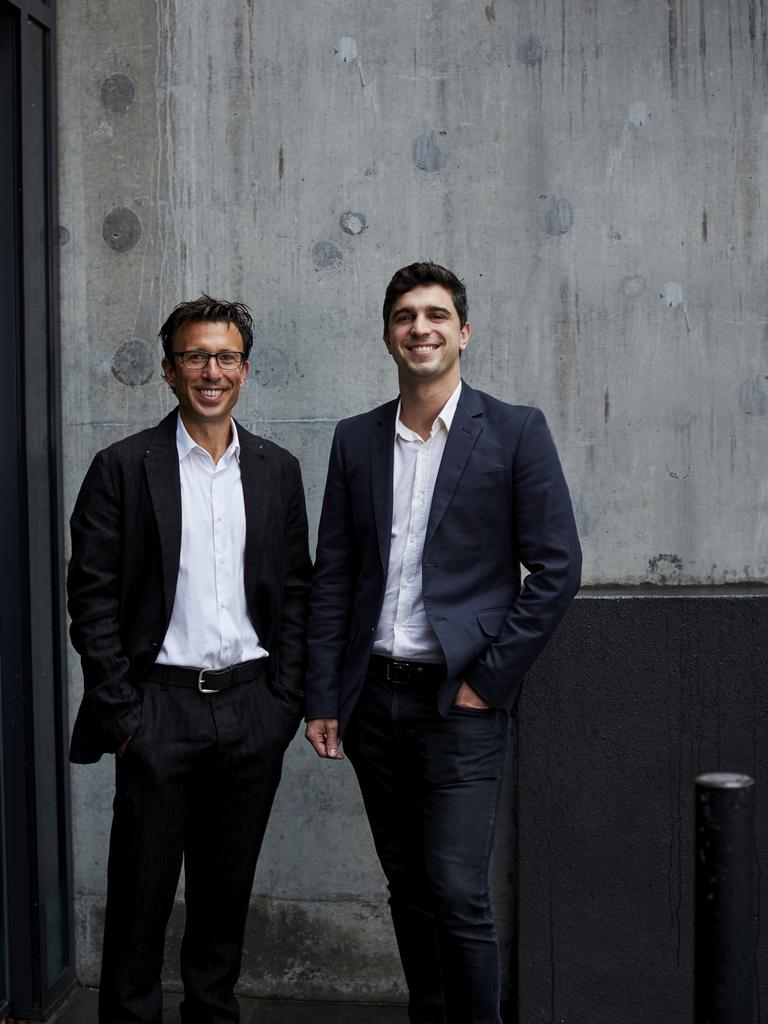 Afterpay co-CEOs Nick Molnar and Anthony Eisen.