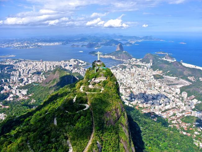 RIO DE JANEIRO, BRAZIL If you haven't inched along in a mob of tourists and sweated up a storm all in an effort to see Christ the Redeemer, have you even been to Rio? The answer is yes because seeing the glorious statute from a cool, crowd-free chopper more than counts. While you're up there, also check out the peninsula peak of Sugarloaf Mountain and the iconic beach Copacabana. Tijuca Rainforest, the world's largest urban rainforest, and the Botanical Garden are also worth a look too.