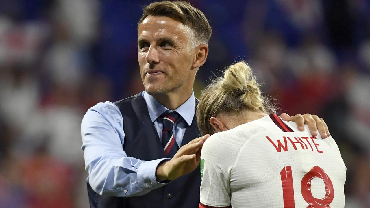 Phil Neville leaves the England role next year and could be available.