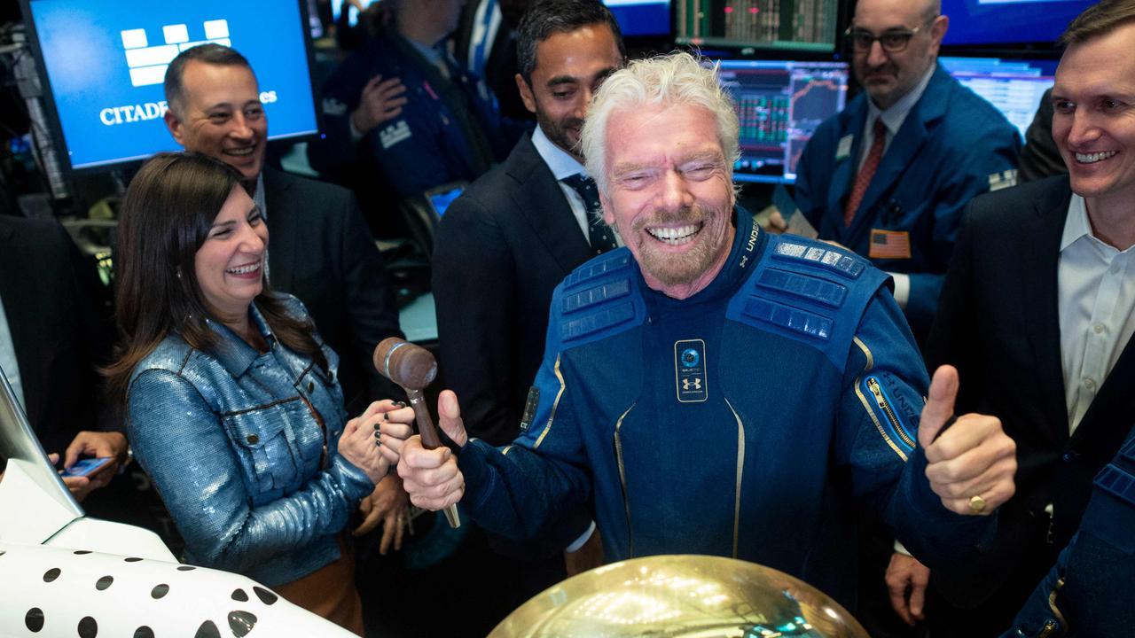 Do we have a winner of the billionaire space race? Picture: Johannes Eisele/AFP