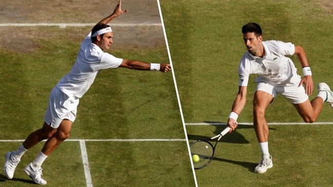 Federer and Djokovic's epic 35-shot rally