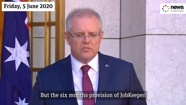 "Mathias Cormann back tracks on six month JobKeeper ""guarantee"""