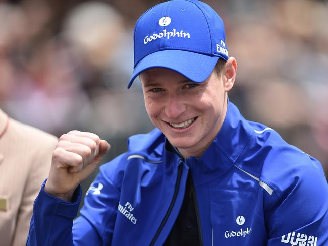 Hartnell's jockey James McDonald is supremely confident ahead of the Melbourne Cup.