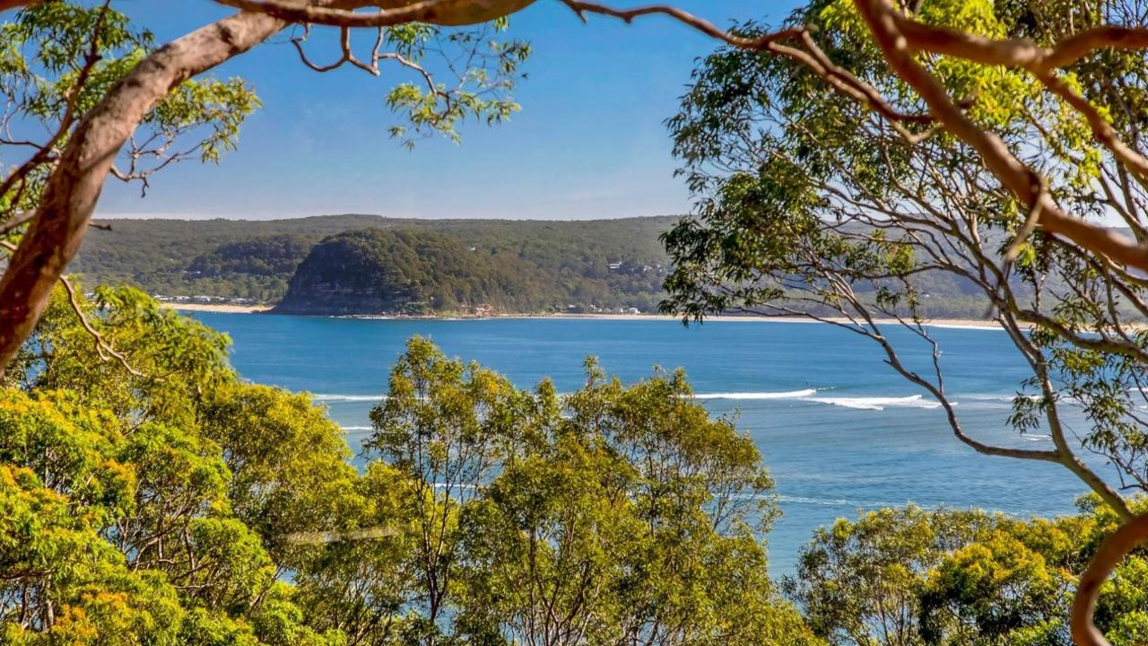 This property is the first of five on a unique Pretty Beach ridge line to list in 12 years. Picture: Ray White Terrigal.