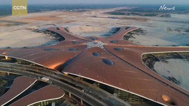 Take a look inside China's $16 billion mega airport with 'world's biggest terminal'