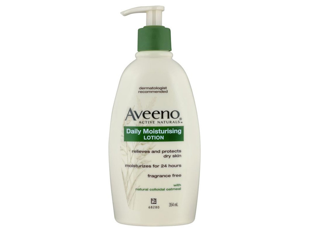 Aveeno daily moisturising lotion. Picture: Supplied