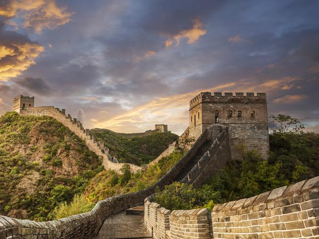 3. GREAT WALL OF CHINA It's so big it was rumoured it could be seen from space. A true OMG moment, this 9000km wall is over 2000 years old and is one of the greatest human feats in history. The stuff of legend, brave the crowds, it's worth the bragging rights when you get home.