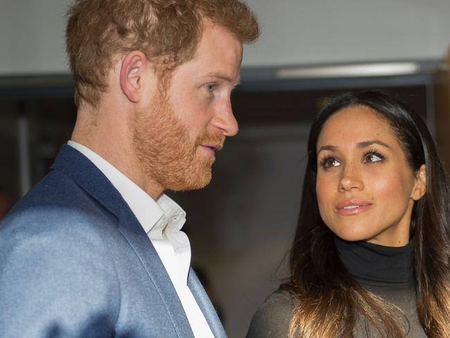 Meghan Markle's first marriage continues to haunt her new life as a royal-to-be. Picture: AFP