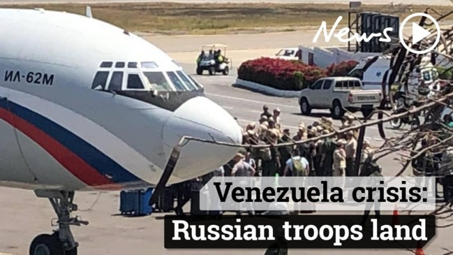 Venezuela crisis: Vladimir Putin has flown Russian troops into the country