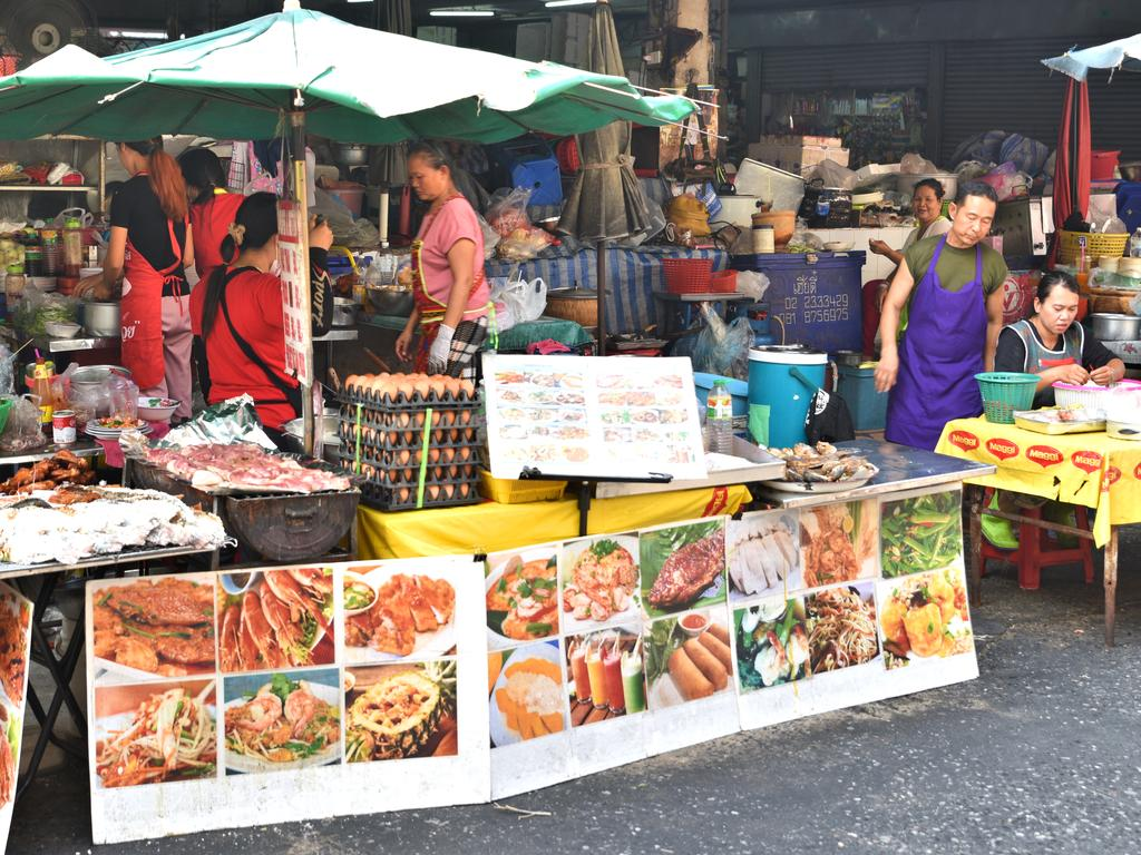 Silom Soi 20 is especially popular among Western travellers. Picture: Ronan O'Connell