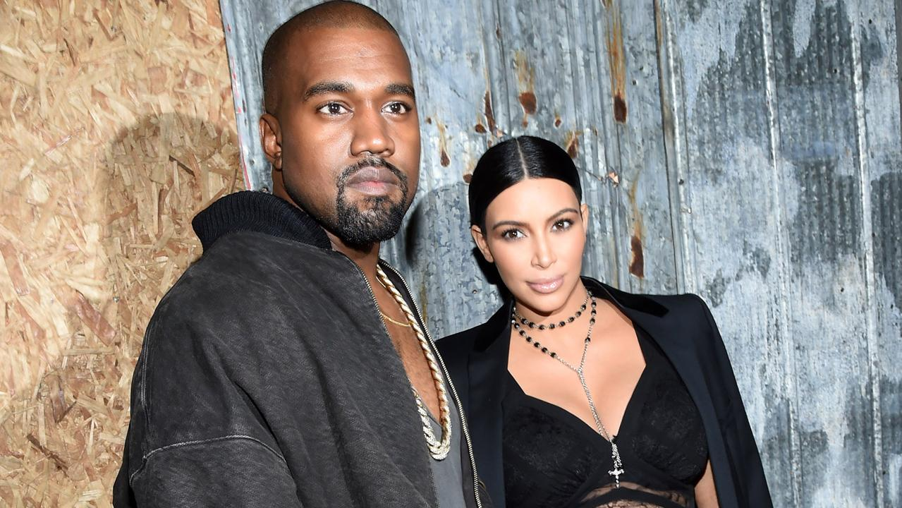 Kim Kardashian and Kanye West have been dogged by divorce rumours all year, with Kanye's public meltdown in July seemingly causing irreparable damage. Picture: Getty Images