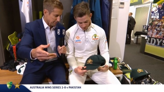 What the Baggy Green means to Tim Paine