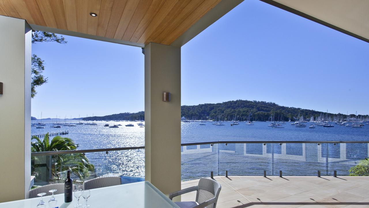 Homes around Pittwater in Sydney's north could be impacted by sea level rise.