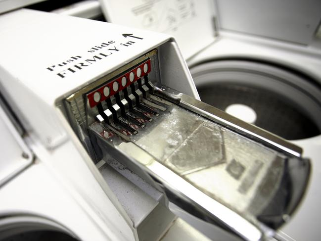 10/16Hold on to small change It's tempting to quickly spend heavy coins but you never know when they'll come in handy for coin-operated laundry machines. -James Coward