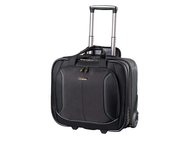 VIZ AIR PLUS ROLLING TOTE — SAMSONITE ($379) Got an overnight business trip you'd like to be as hassle free as possible? Say hello to the latest carry-on workhorse from Samsonite. As well as plenty of space for clothing, it has an unbeatable laptop compartment featuring air bumpers for extra protection (think the same protection runners get from their shoes), a tablet sleeve and plenty of additional compartments to keep you on top of any deadlines.
