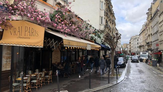Lunch at little bistros with a prixe-fixe menu, picnics on the grass underneath the Sacre Coeur overlooking the city and - the best Paris activity of all - people watching. All are possible within the cobbled streets of Montmartre. Picture: Marloes Hilckmann/Unsplash