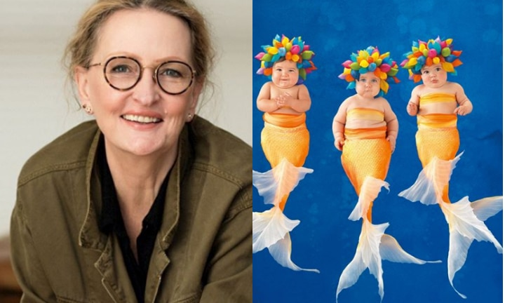 Anne Geddes is working on a new calendar