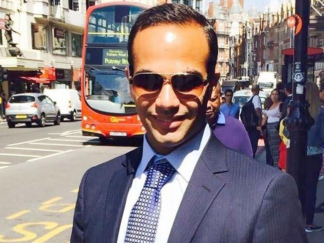 George Papadopoulos posing on a street of London. The former Trump campaign aide pleaded guilty to lying to the FBI about his Kremlin-related contacts. Picture: AFP/LinkedIn