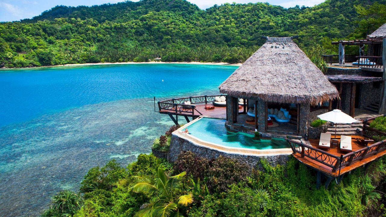 A stay at luxurious Laucala Island doesn't come cheap.
