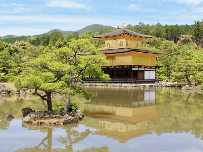 GOLDEN PAVILION The Kinkaku-ji Buddhist temple (also known as the 'Golden Pavilion') in Kyoto, Japan. -Monique Googh (Pic of the Week — August 4, 2019)