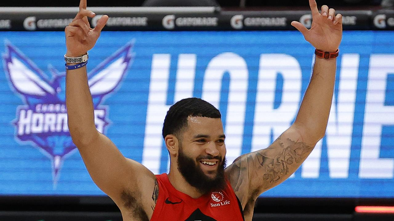 Fred VanVleet set a franchise record. (Photo by Jared C. Tilton/Getty Images)