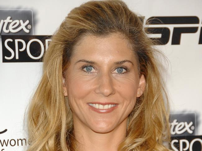 Silence broken ... Monica Seles has opened up about her battle with a binge eating disorder. Picture: AP/Evan Agostini