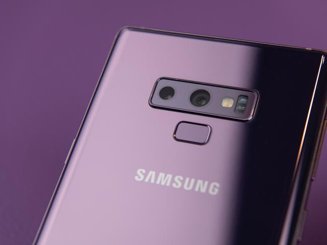 The Samsung Galaxy Note 9 features dual cameras, an upgraded S Pen, and more storage. Picture: Supplied