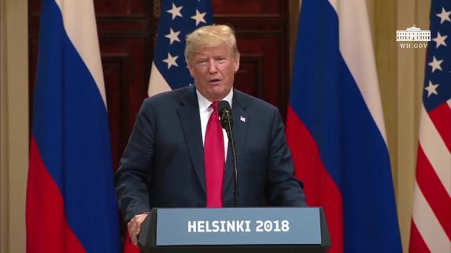 Trump and Putin on US election