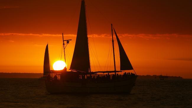 Beautiful sunsets on Darwin Harbour.