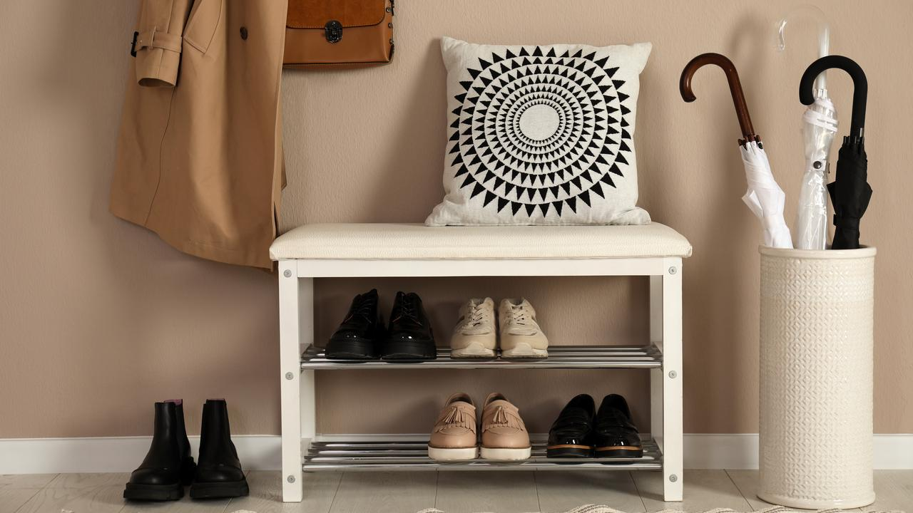 So much better than a messy pile of shoes at your front door. Picture: iStock