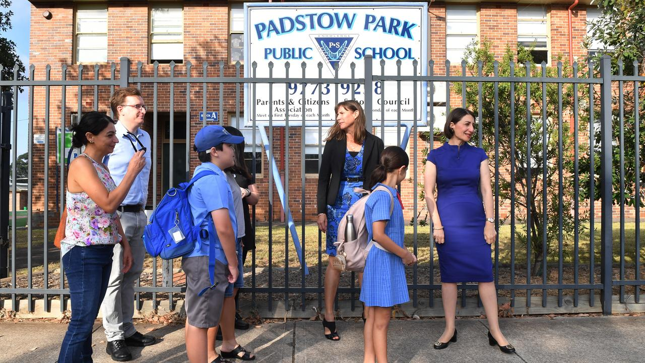 New South Wales Premier Gladys Berejiklian has been out campaigning in the ultra-marginal areas. Picture: Dean Lewins/AAP