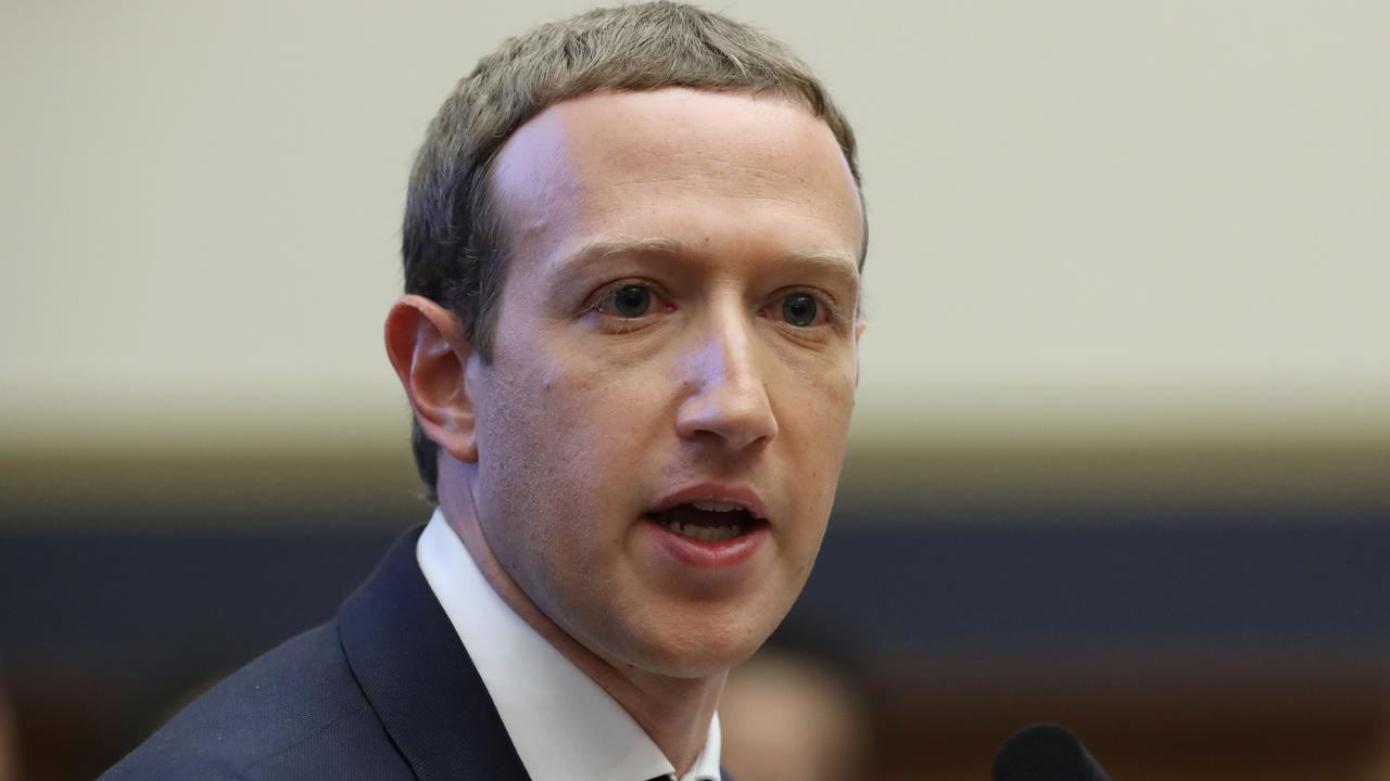 Facebook co-founder and CEO Mark Zuckerberg. Picture: Chip Somodevilla/Getty Images