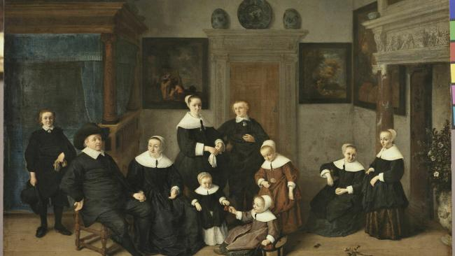 """3/12 """"Trust me kids, we will totally fit in in Melbourne."""" Ostade by Adriaen van Pays-Bas."""