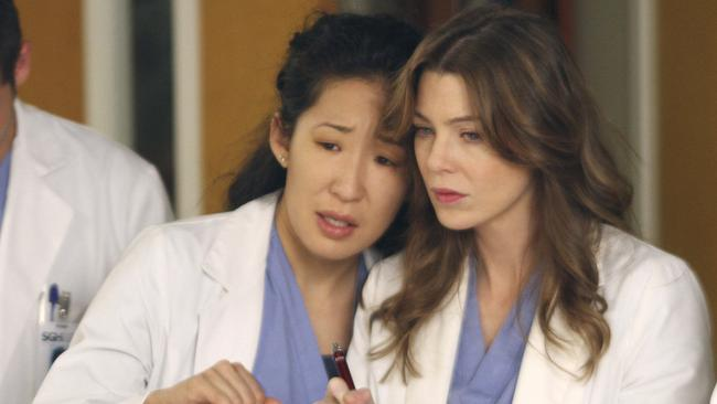 A critic hated us? Oh dear. That's funny because her name is Sandra Oh.