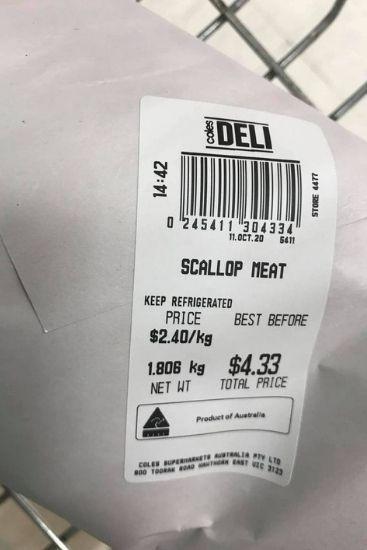 Coles shopper's seafood markdown divides internet