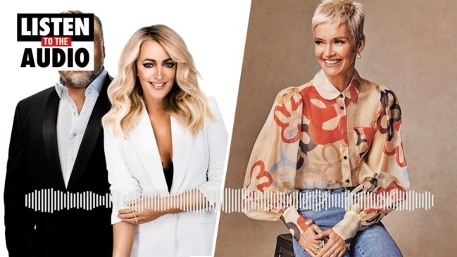Jessica Rowe tells Kyle and Jackie O that Eddie McGuire isn't welcome on her podcast.
