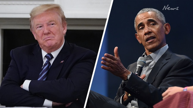 Obama calls Trump's coronavirus response an 'absolute chaotic disaster'