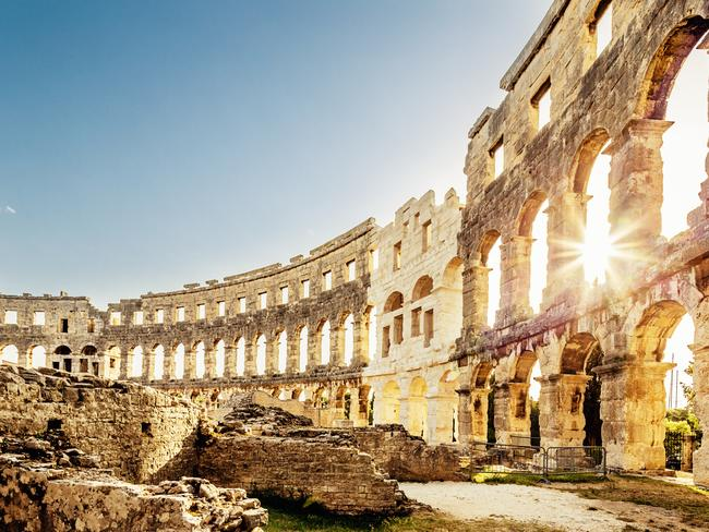 10. ISTRIA, CROATIA No, you haven't stumbled into Rome — this is Pula, in Croatia's Istria region, which boasts its own Roman Ampithetre. The historic sights are just one of the area's big attractions — with expanding European flight connections making this heart-shaped peninsula easier to reach than ever.
