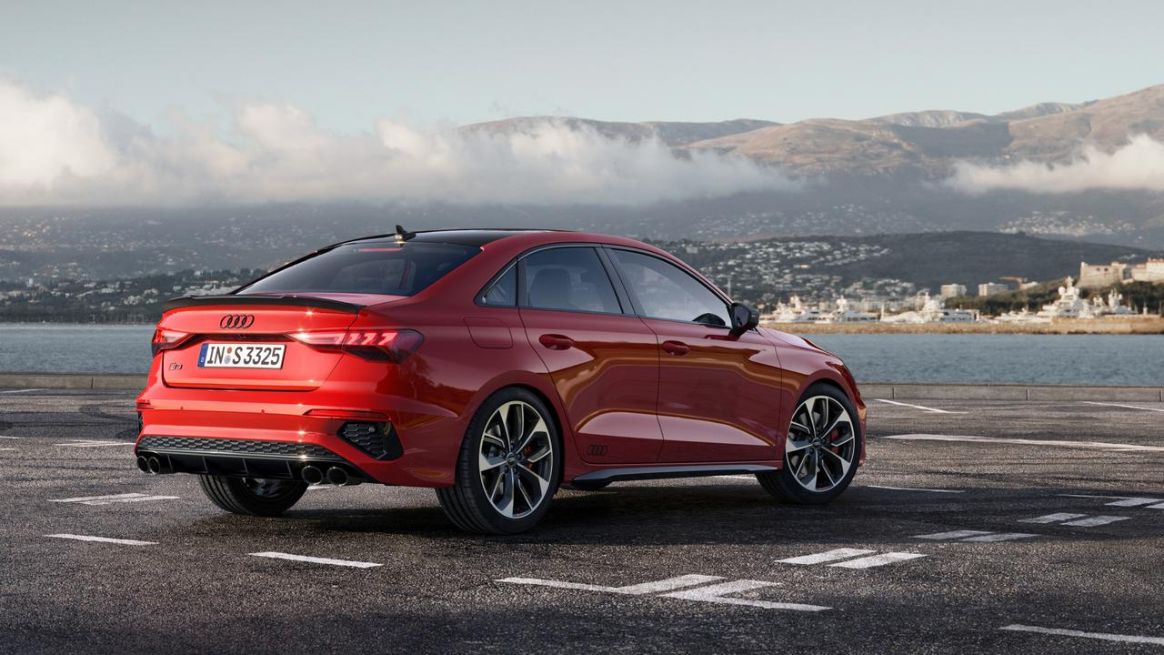 Sedan versions cost $2500 more than the hatch. (overseas model shown)
